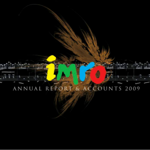 IMRO Annual Report 2009