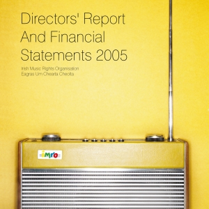 IMRO Annual Report 2005