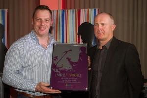 Robert Monroe (of Monroe's, Galway), winner IMRO Live Music Venu