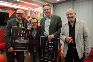 Photos taken at the Music In Film & TV Seminar at IMRO HQ hosted by 2FM's Paddy McKenna. Gavin Friday and Maurice Seezer were joined on the panel by Darren Hendley and Todd Brabec.