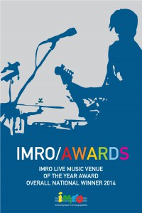 IMRO Live Music Venue of the Year Awards 2014 @ IMRO HQ