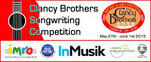Clancy Brothers Song Contest 2015 @ Nano Nagle Chapel