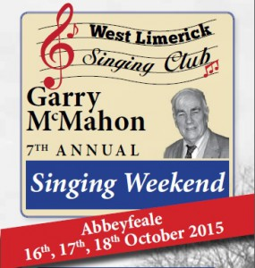 West Limerick Singing Club Garry McMahon 7th Annual Singing Weekend @ Various