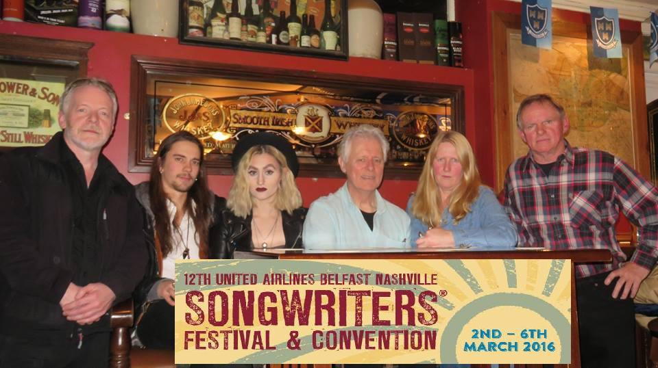 Musicians & Songwriters Collective Dublin Presents Duos At Belfast Nashville Songwriters Festival 2016.