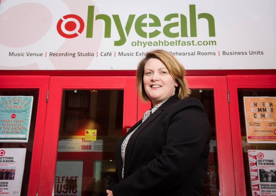 The Oh Yeah Music Centre, Belfast's dedicated music hub, has appointed a new CEO