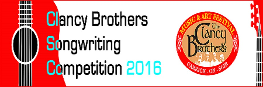 Clancy Brothers Songwriting Competition 2016 – Winners Announced