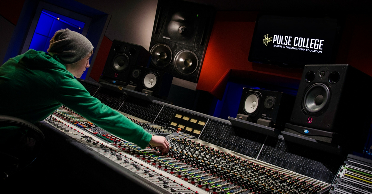 Pulse College Unveils New BA (Hons) Degree in Music & Audio Technology