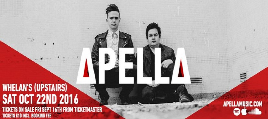 """Apella Announce Their New Single """"Graceful Dancer"""" Set For Release On November 4th"""