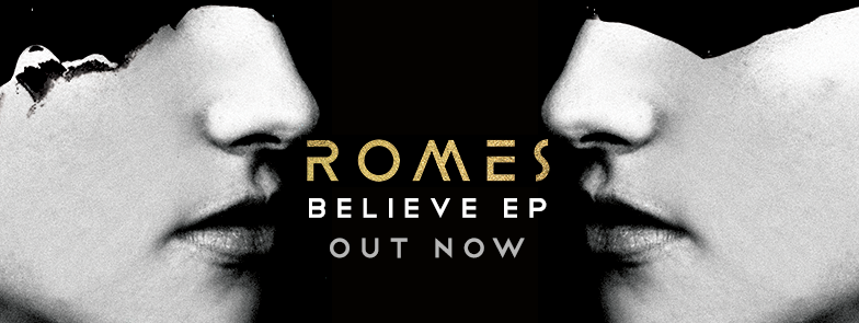Canadian Based Pop Quartet ROMES Announce New Single Tryna Be