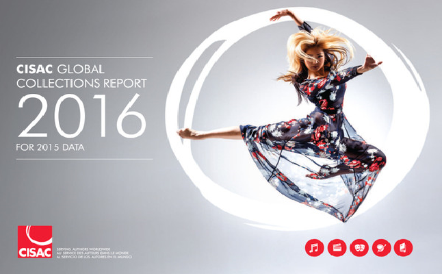 CISAC Release Its 2016 Global Collections Report