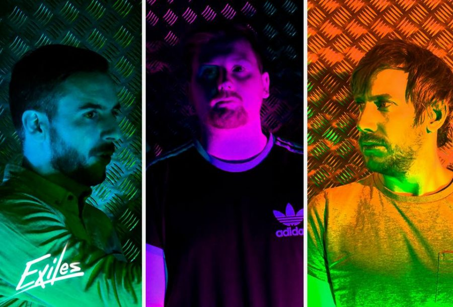 Exiles Debut EP 'Red Lights' Out Now