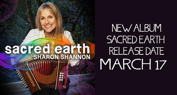 """Sharon Shannon Announces New Single """"Let's Go"""""""