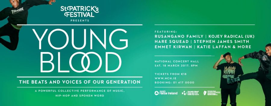 Young Blood at the National Concert Hall This Weekend