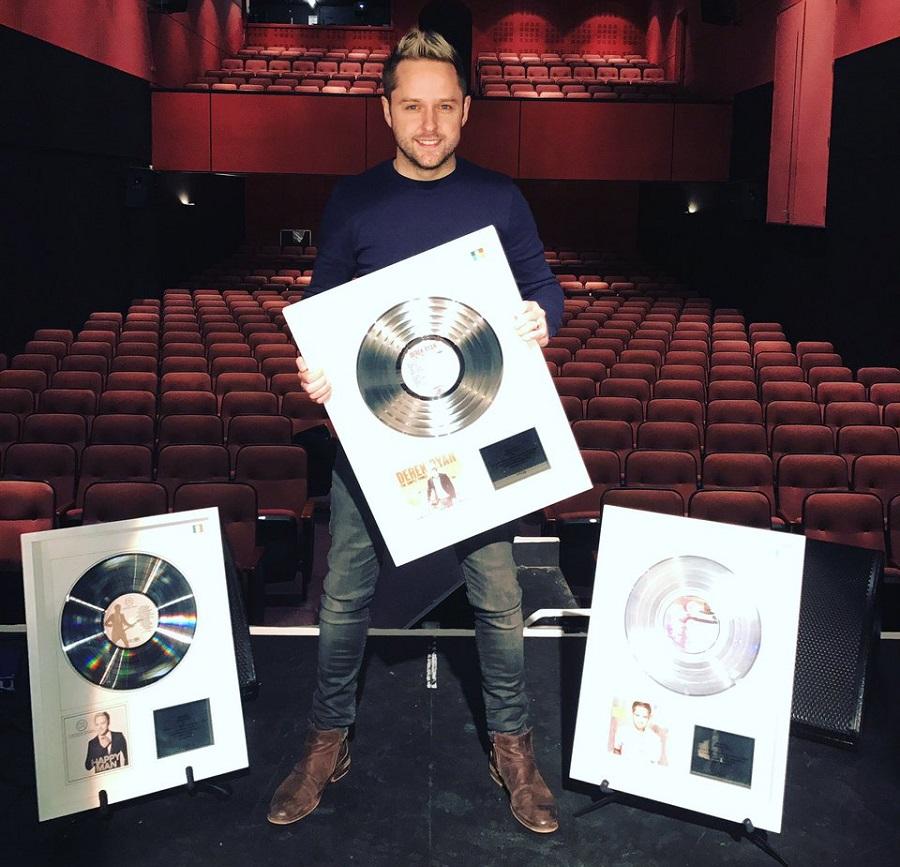 IMRO Present Derek Ryan with Trio of Awards