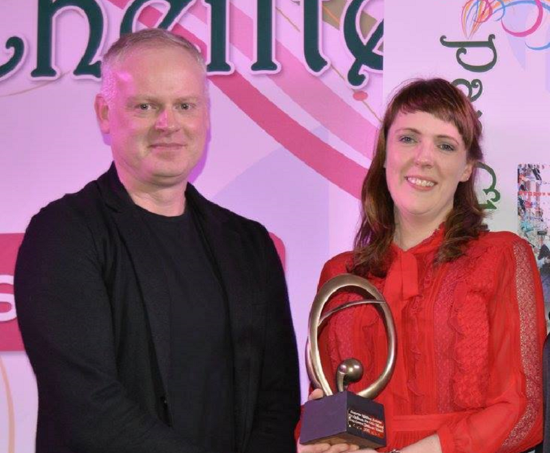 Pan Celtic Trophy Awarded to Emer O'Flaherty