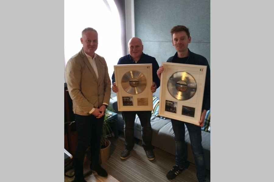 The Production Suite Receive IMRO Award