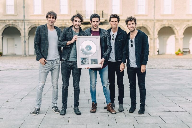 The Coronas Receive IMRO Award