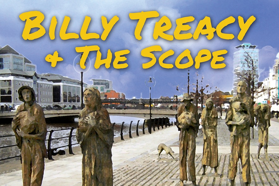 Billy Treacy & The Scope Release 'Moving This Way'