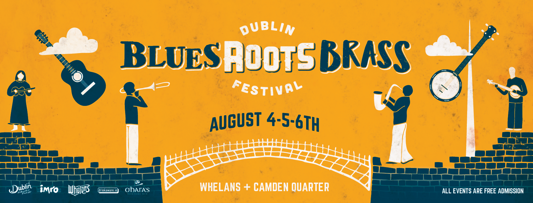 Dublin Blues Roots & Brass Festival First Line-up Announced