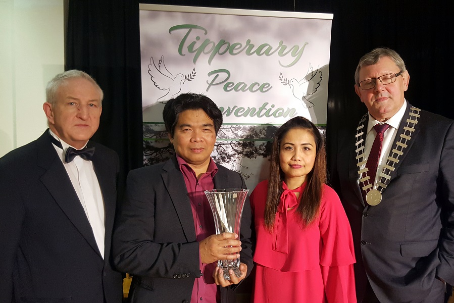 Nathaniel Cabanero Wins Tipperary International Song of Peace Contest