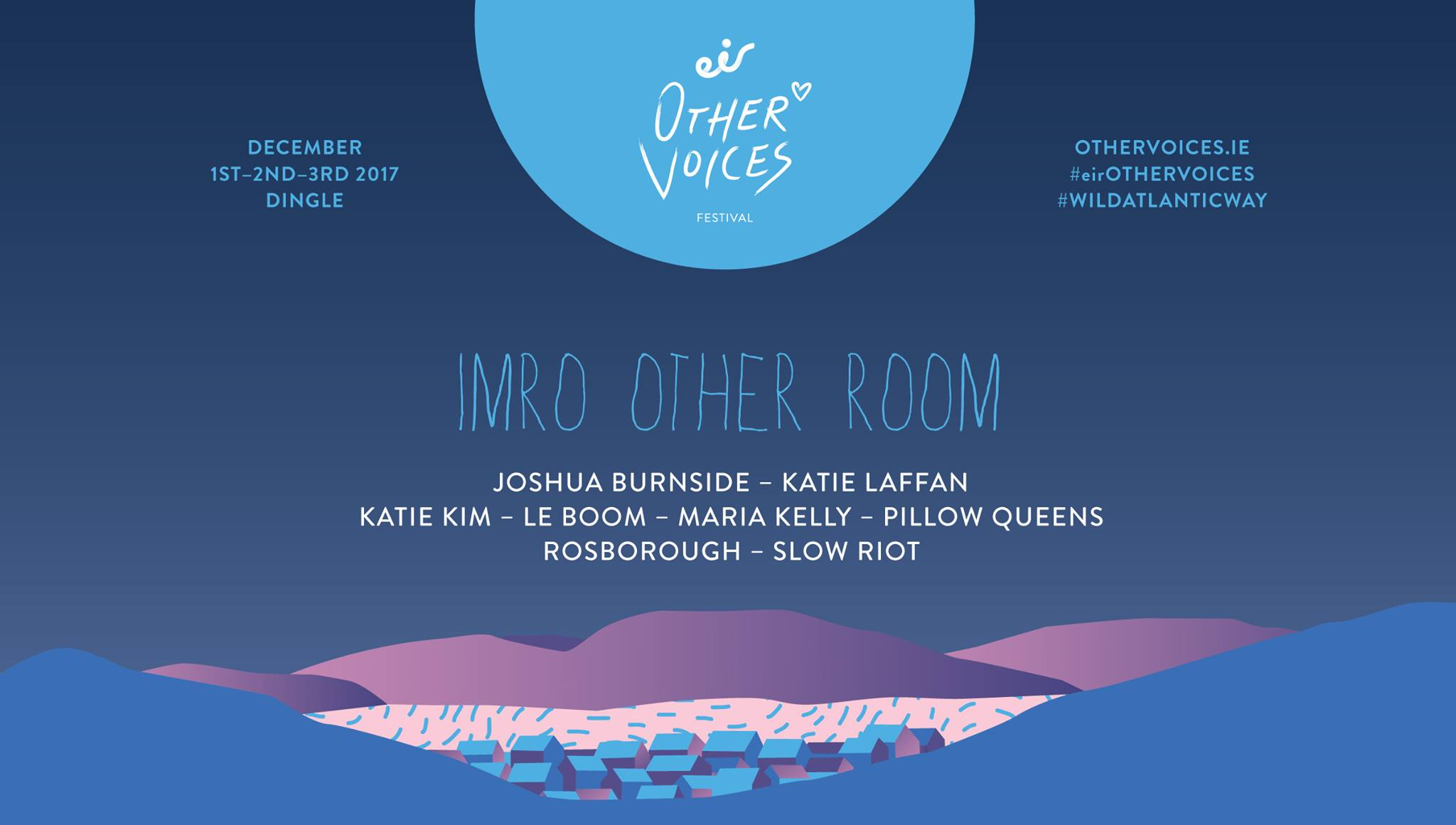 IMRO Other Room Acts Announced for Eir Other Voices Festival 2017