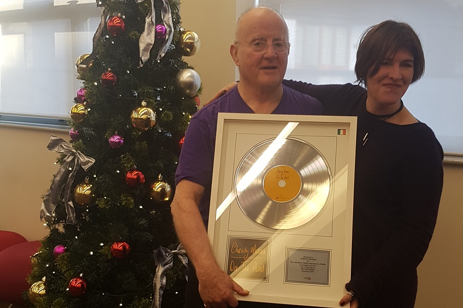 Christy Moore Presented with IMRO Award