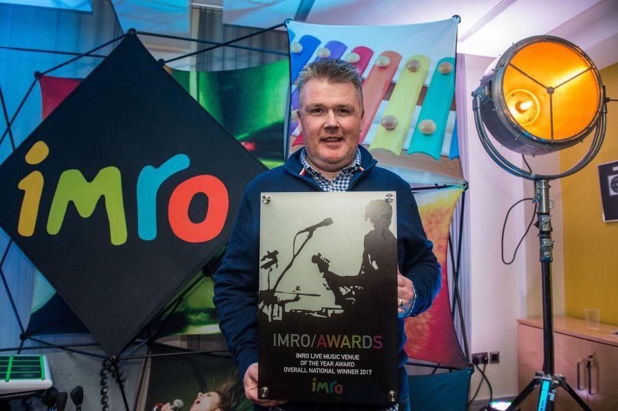 IMRO Live Music Venue of the Year Awards 2017 Winners