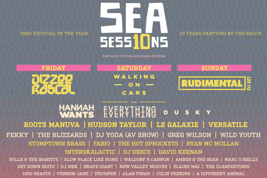 Sea Sessions Announces Headliners and New Acts