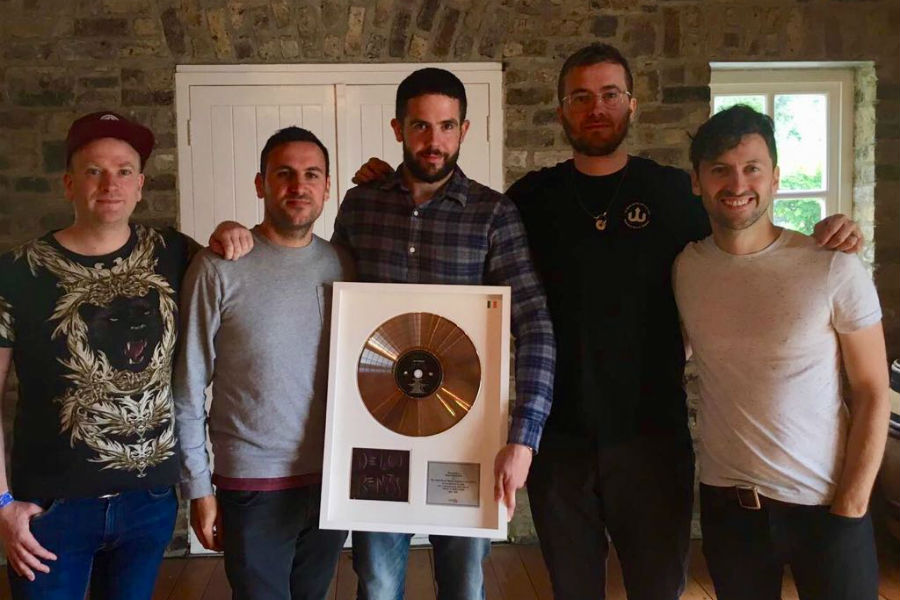 Delorentos Presented with IMRO Award for 'True Surrender'