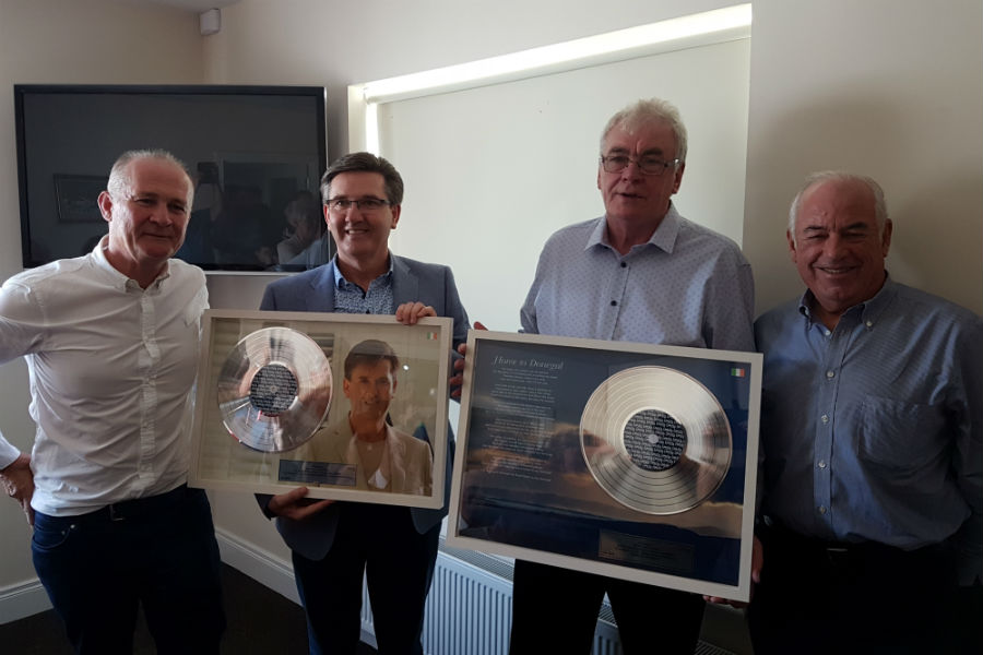 Daniel O'Donnell and Patsy Cavanagh Honoured by IMRO