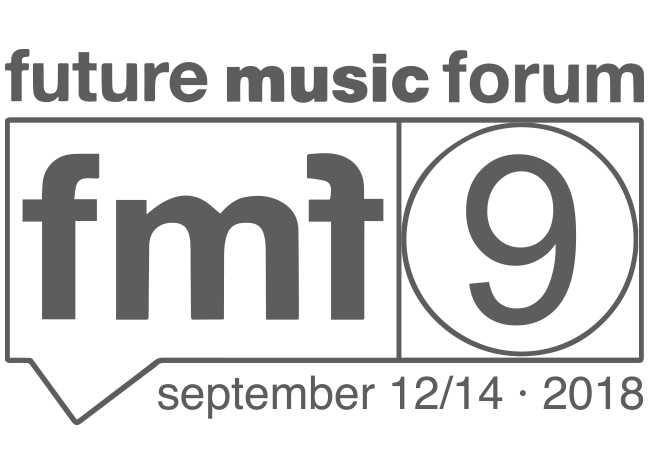 The Future Music Forum Barcelona, September 12th-14th 2018