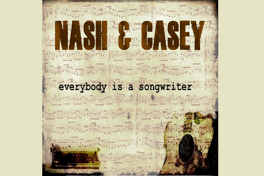 Paddy Nash & Paul Casey Release 'Everybody Is A Songwriter'