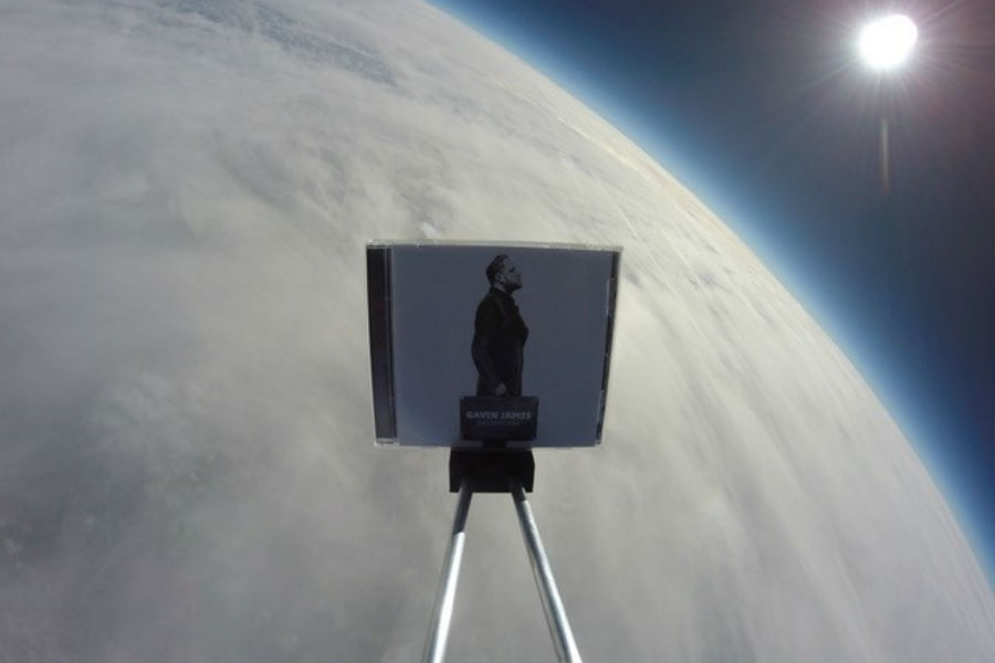 Gavin James Album Launched Into Space