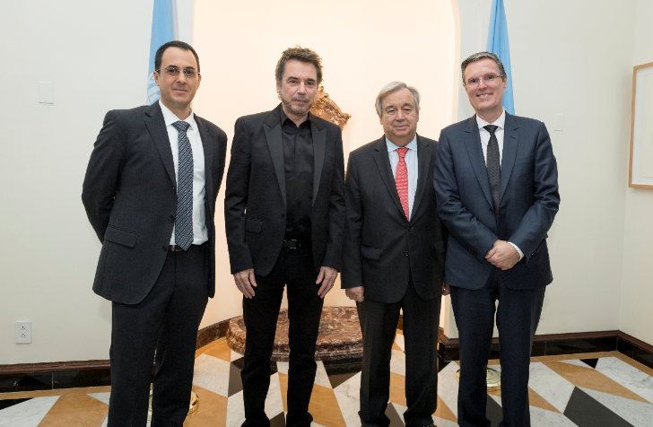 CISAC meets with United Nations Secretary-General Guterres in New York, cements closer relations and offers collaboration