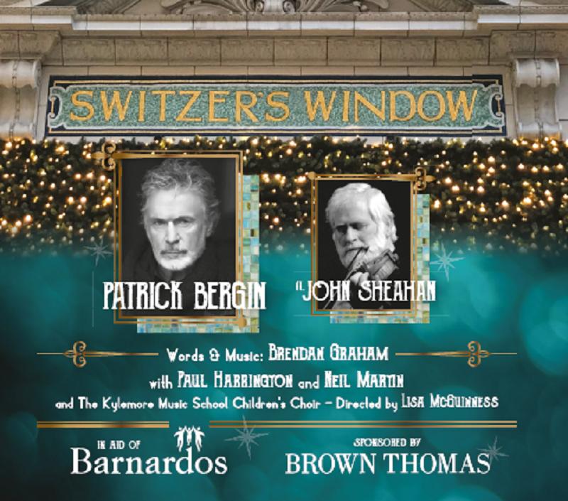 'Switzer's Windows' by Brendan Graham Debuts This Week At Brown Thomas Dublin | All Proceeds in Aid of Barnardos