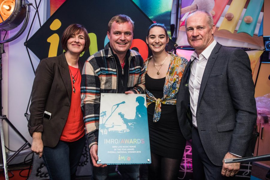 IMRO Live Music Venue of the Year Awards Winners