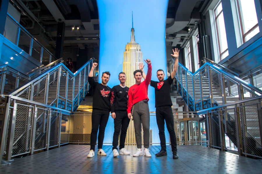 Picture This Launch Album 'MDRN LV' from The Empire State Building