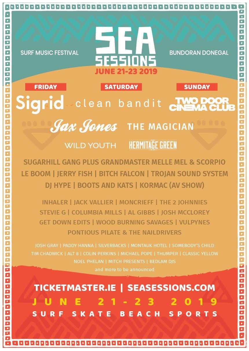 Sea Sessions Announces 2019 Line Up