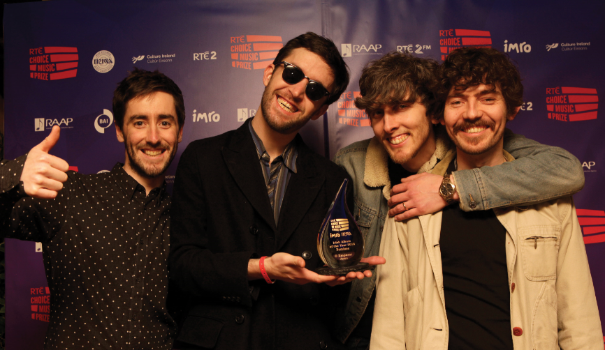 O Emperor win the RTÉ Choice Music Prize Irish Album of the Year 2018