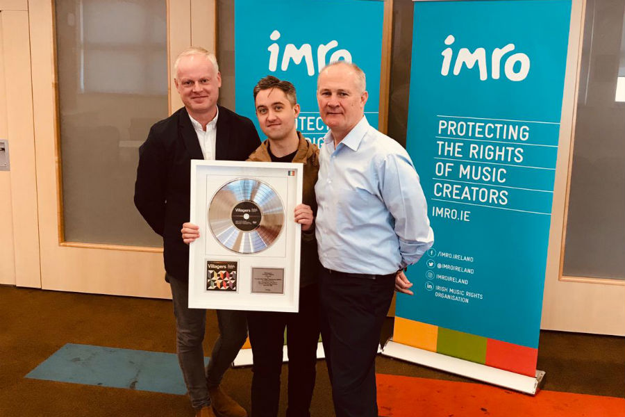 Villagers Presented with IMRO Award