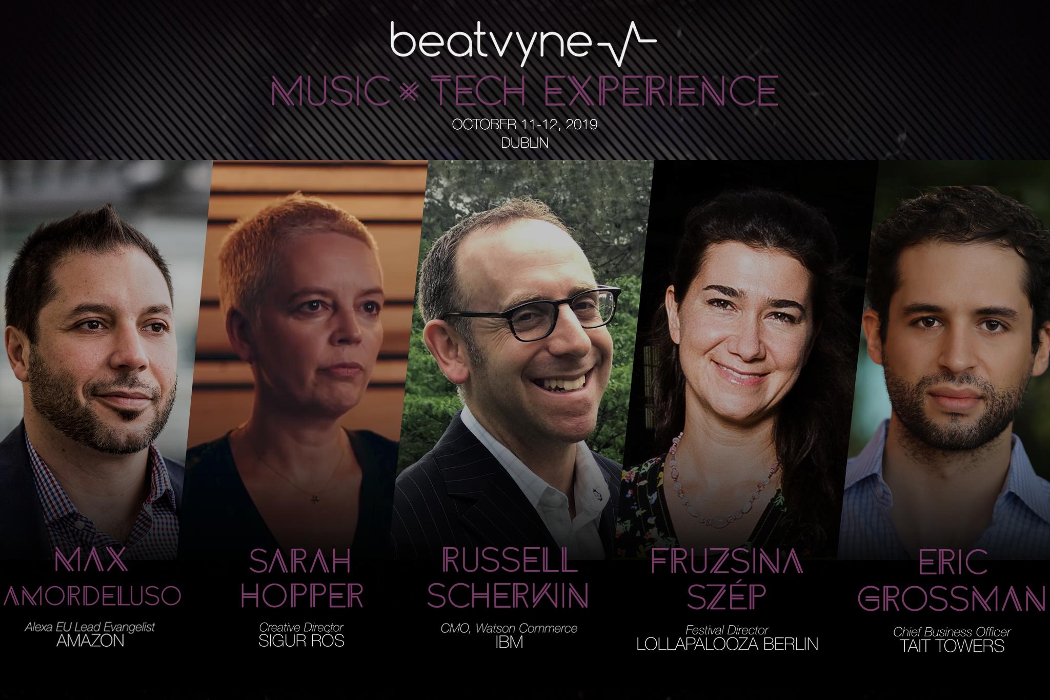 Beatvyne's Music x Tech Experience returns to Dublin | Oct 11-12, 2019