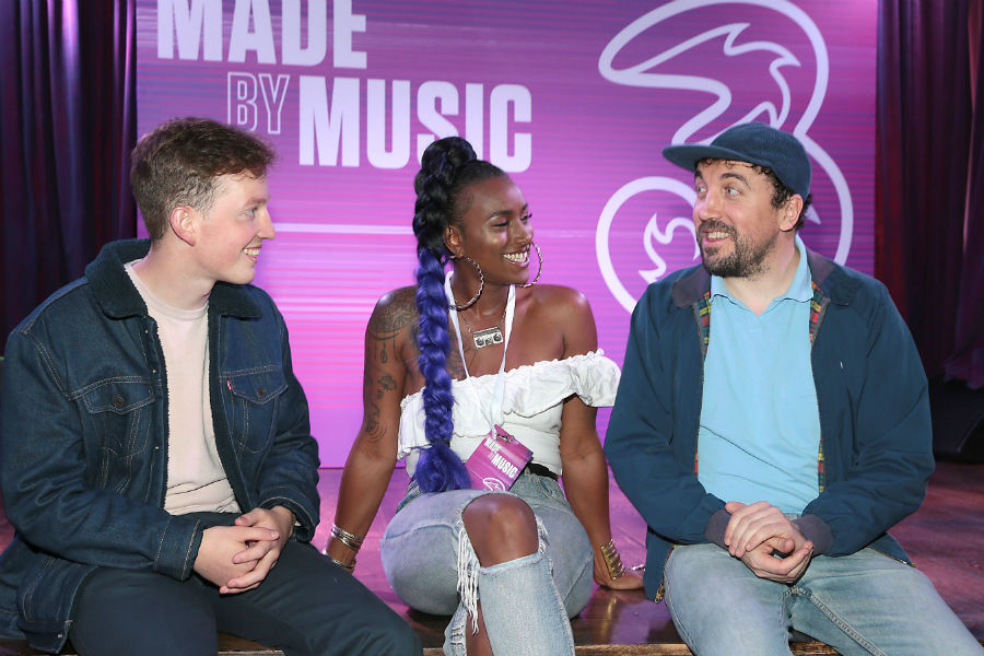 David Kitt, Kean Kavanagh and Fehdah Join Forces for Three's 'Made By Music'