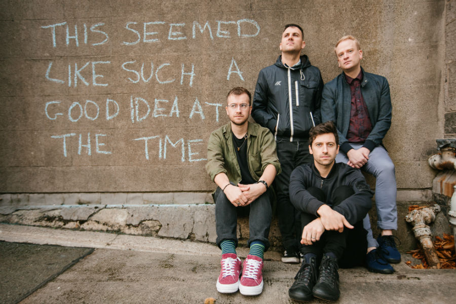 Delorentos Re-Release 'Be Here Christmas Time' in Aid of Focus Ireland