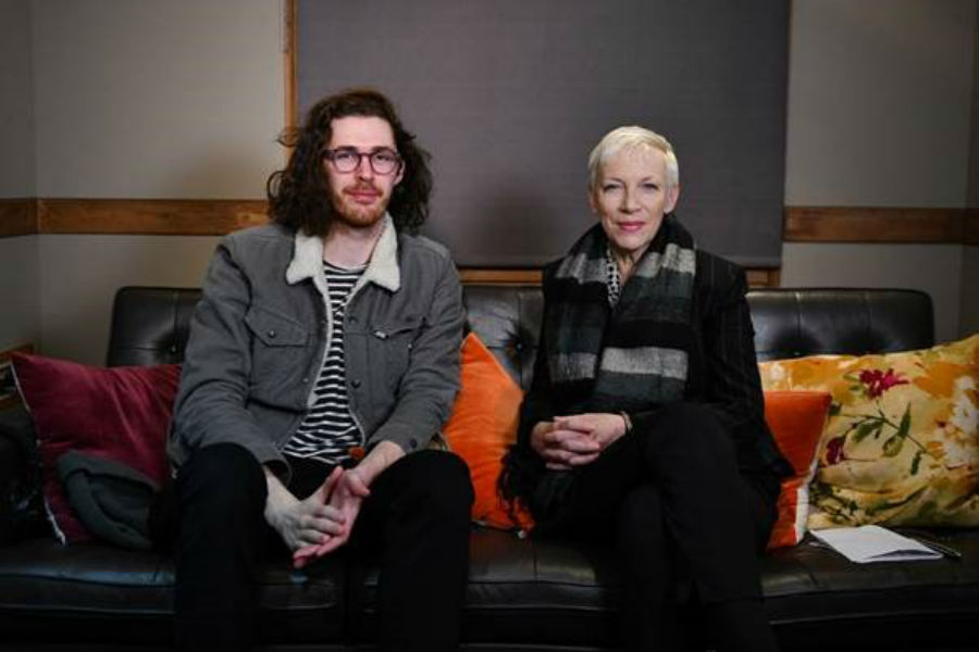 Hozier Unveils 'Cry Power' Podcast with First Guest Annie Lennox