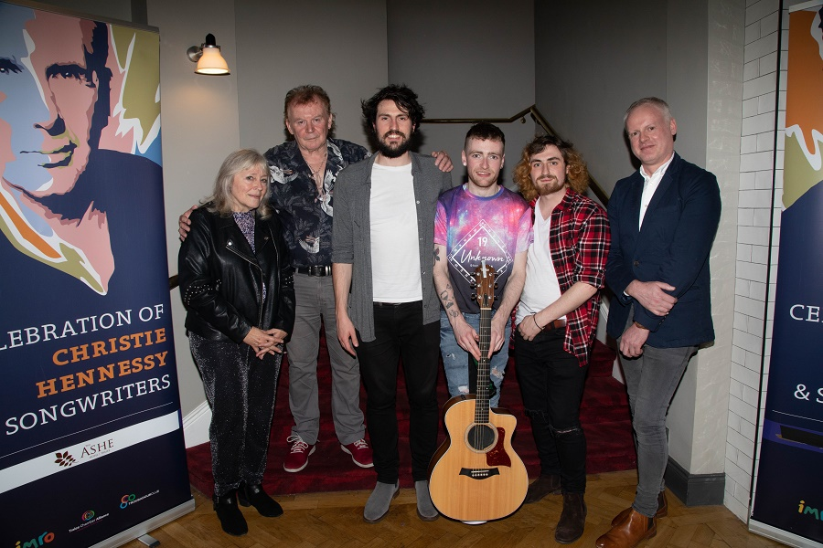 Ryan J Announced as Winner of IMRO Christie Hennessy Song Contest