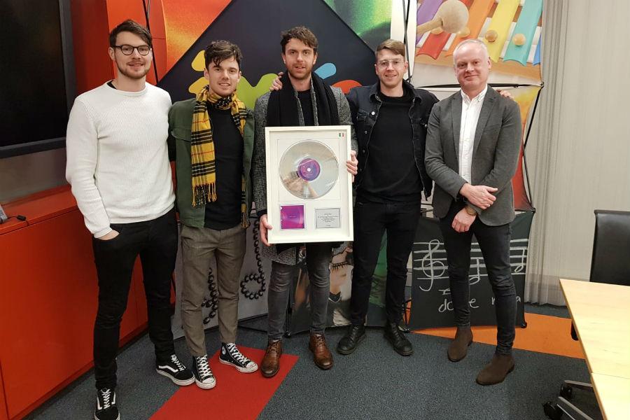 Brave Giant Receive IMRO No.1 Award