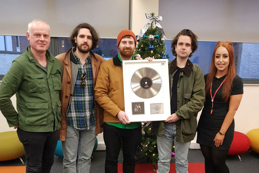 Fontaines D.C. Presented with IMRO Award