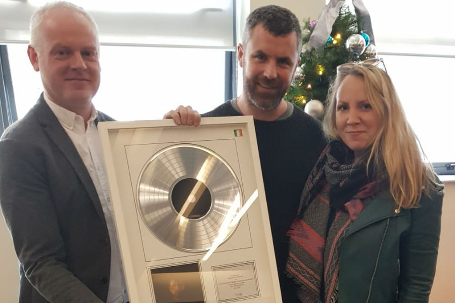 IMRO Award Presented to Mick Flannery
