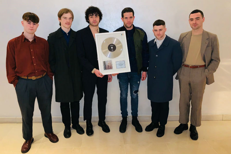 The Murder Capital Presented with IMRO No.1 Award