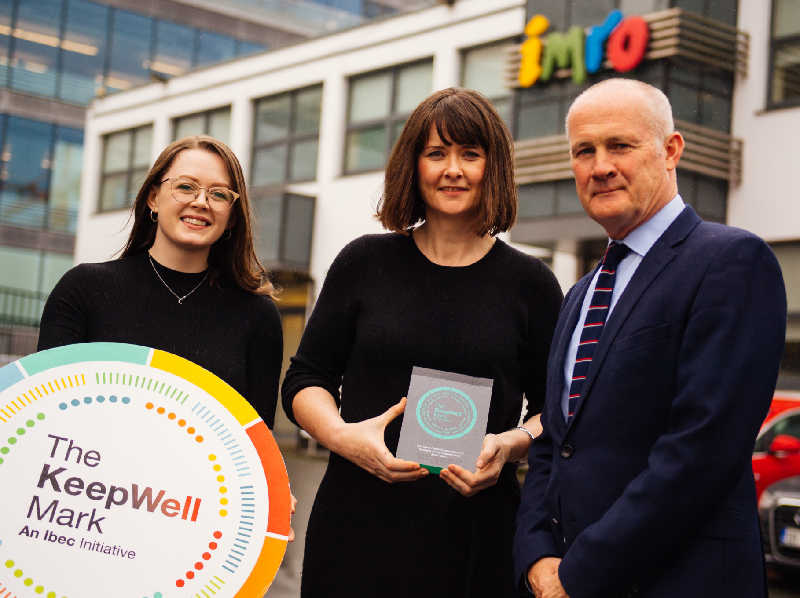 IMRO Awarded for Commitment to Employee Wellness